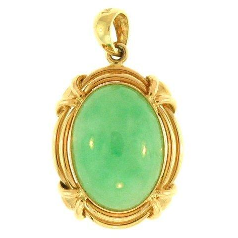 Natural Green Jade Pendant