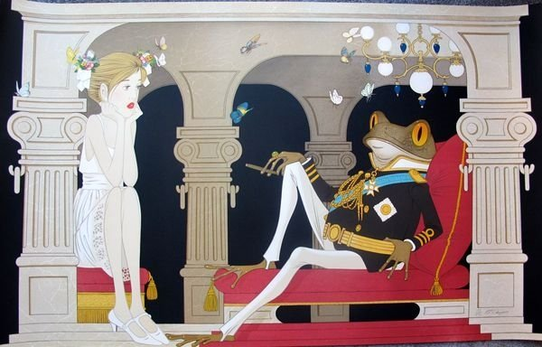 """Philippe Noyer """"The Dictator Hand Signed Large"""
