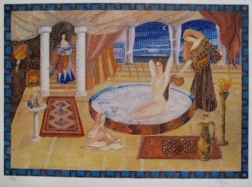 Irel Cleopatras Milk Bath Hand Signed Limited Edition
