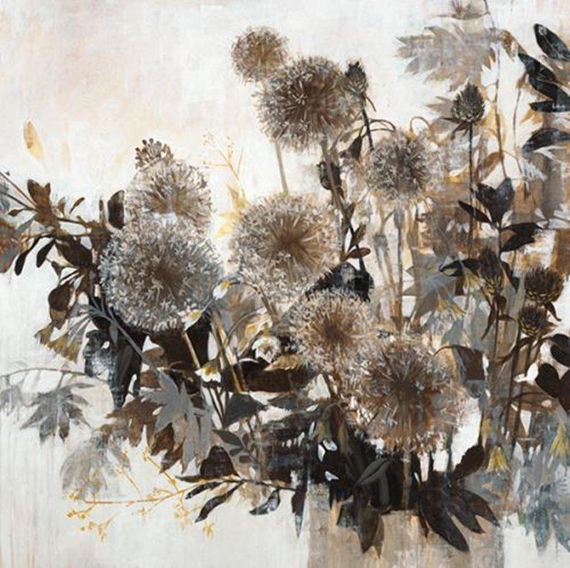 Original Painting By Liz Jardine-Dandelions