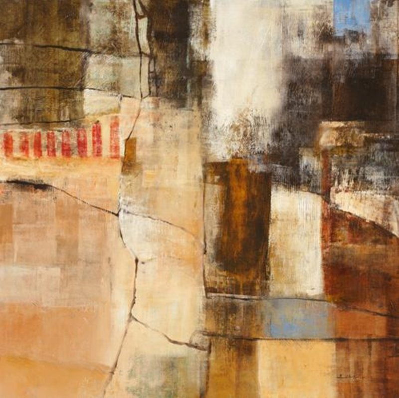 Original Painting By Simon Addyman-Structure II