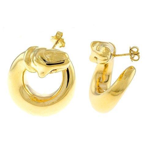 18KT Yellow Earrings