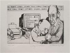 Charles Bragg Day Traders Hand Signed Limited Edition