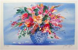 Claude Mars Spring Bouquet Ii Hand Signed Limited