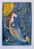 Marc Chagall Wedding Limited Edition Signed Lithograph