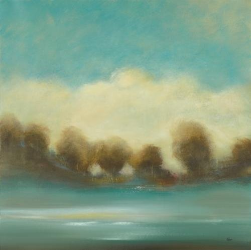 Original Art Work-Lisa Ridgers-Contemporary Scape III