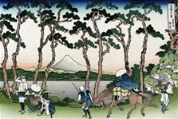 Hokusai - Hodogaya On The Tokaido Road, 1830