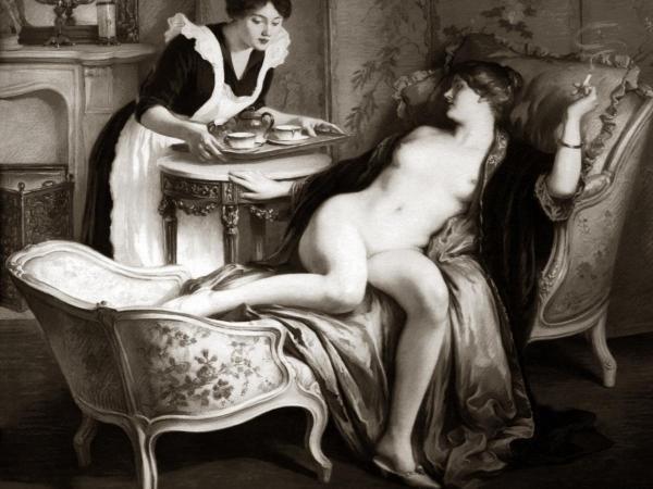 Vintage Nudes - In Her Quarters