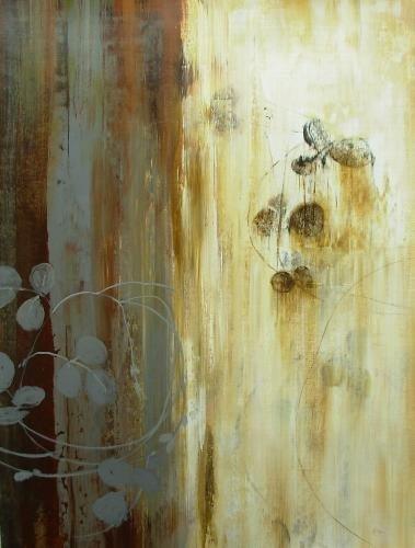 Original Art Work-Simon Addyman-Rust Organic