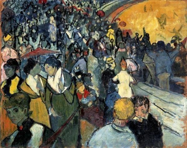 Vincent Van Gogh - The Arena At Arles