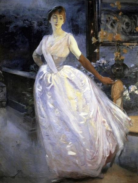 Albert Besnard - Madame Roger Jourdain