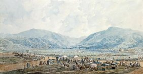 Marciano Baptista - A View Of Happy Valley Race Course,