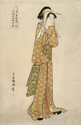 Chokyosai Eiri - The Streetwalker Okane