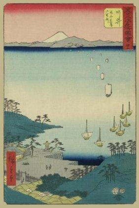 Ando Hiroshige - Arai, 1855