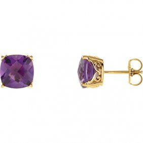 Genuine Amethyst Earrings