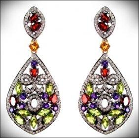 Earrings - Diamond -gold