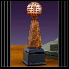 Bronze Golf Ball