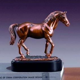 Bronze Lipizzaner Stallion