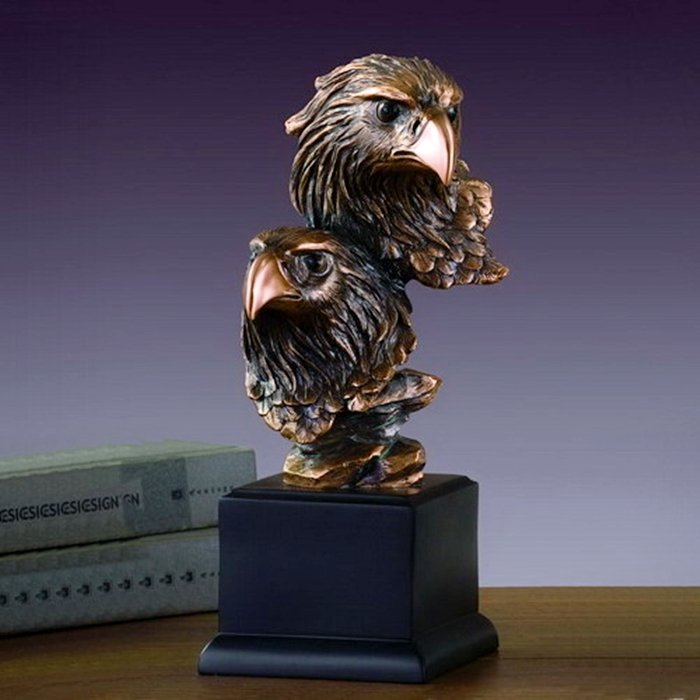 Bronze Double Eagle Heads