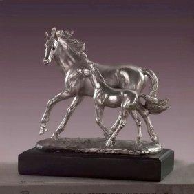 Bronze Mare W/foal