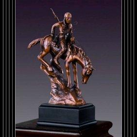 Bronze American Indian