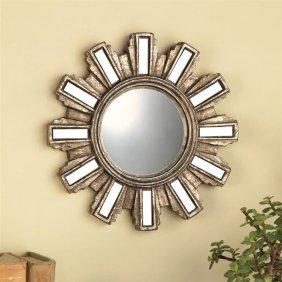 Deco Cogwheel Wall Mirror