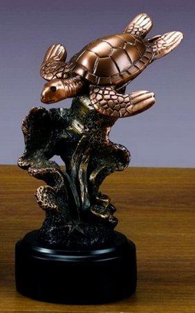 Bronze Sea Turtle