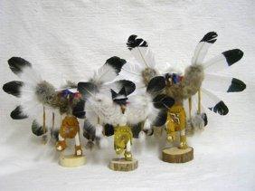 Native American Navajo Made Ascending Eagle Kachina