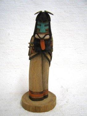 Native American Hopi Carved Heoto Mana Katsina