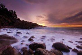 Michael Hudson. Dawn Monument Cove