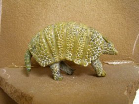Zuni Carved Armadillo Fetish