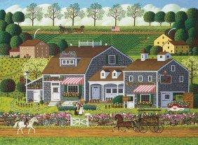 Charles Wysocki - Prairie Wind Flowers