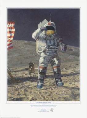 Alan Bean - John Young Leaps Into History