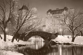 Rod Chase - Twilight In Central Park - Sepia