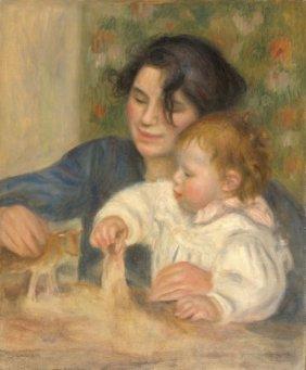 Pierre-auguste Renoir. Gabrielle Et Jean, 1895-1896