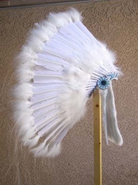 Native American Made Wedding Bonnet