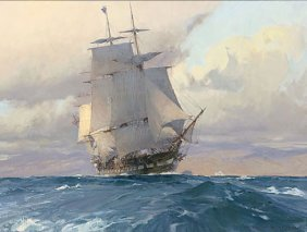 Christopher Blossom - U.s. Frigate Congress On The