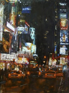 Mark Lague - Manhattan Traffic