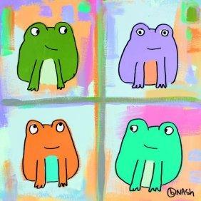 Brian Nash. Frogs