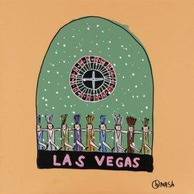 Brian Nash. Las Vegas Snow Globe