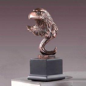 Bronze Eagle Head
