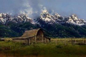 Bruce Cheever - Moulton Barn, Jackson Hole Valley