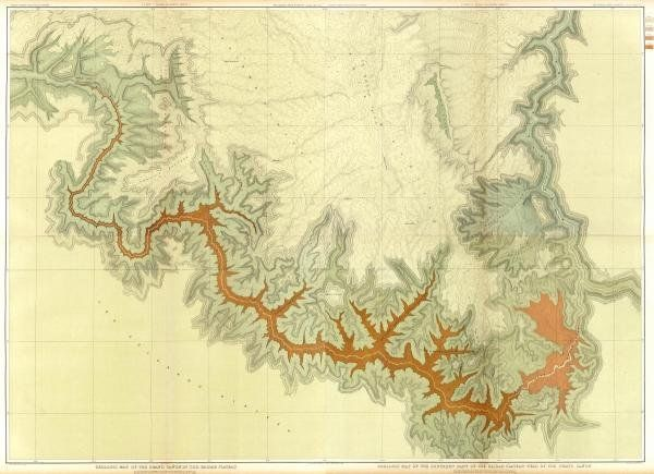 Clarence E. Dutton - Grand Canyon - Composite: Geologic