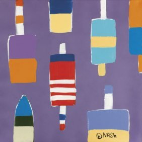 Brian Nash. Buoys Purple