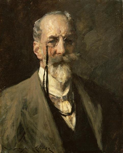 William Merritt Chase - Self-portrait