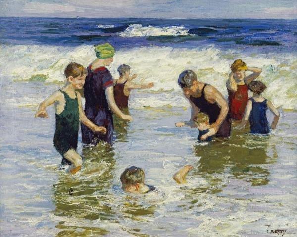 Edward Henry Potthast - The Bathers