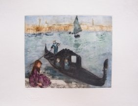 Renoir - Colored Etching