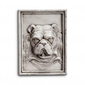 Grumpy Bulldog Wall Art