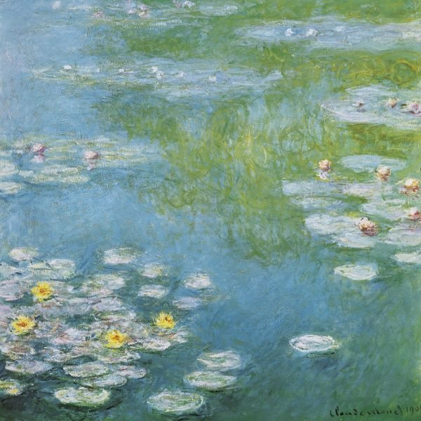 Claude Monet.  Nympheas at Giverny