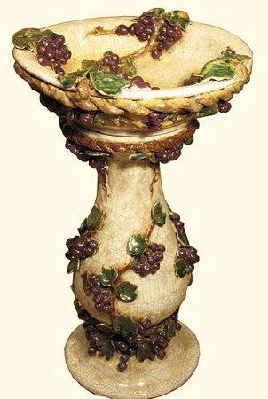 Ceramic Garden Birdbath